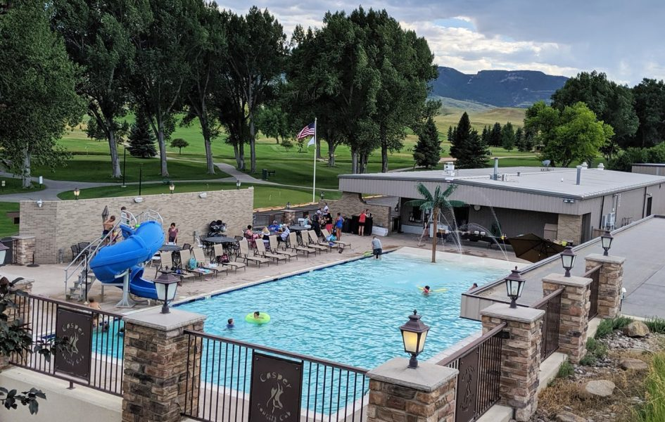 view of casper country club pool facility