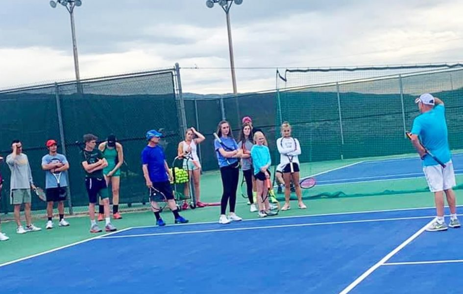 tennis camp at casper country club