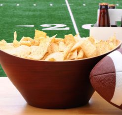 football, chips, and beer for super bowl Sunday!